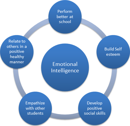 Emotional intelligence radial graph