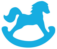 King City Nursery School rocking horse logo